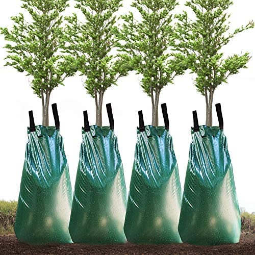 Lovinouse 4 Pack 20 Gallon Tree Watering Bag Slow Release Water Bags for Trees Premium PVC Tree product image