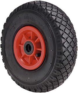 comprar comparacion WOLFPACK LINEA PROFESIONAL 11110605 Rueda Carretilla Sacos Neumática llanta plástico 20 mm, Negro