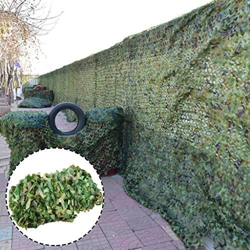 LIYIN-Voiles d'ombrage Filet de Camouflage Filets Militaire Couverture Oxford Militaire Perméable Ombre du Soleil Tissus de Protection Solaire avec Corde Libre pour Jardin extérieur