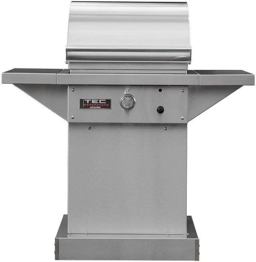 TEC Super intense SALE Sterling Patio 1 FR Infrared Indefinitely Steel Grill on Pedest Stainless