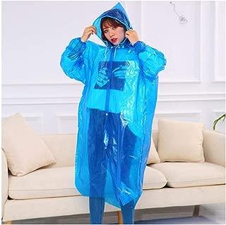 2 x PEVA in plastica con cappuccio Poncho Impermeabile Campeggio PIOGGIA CAPPOTTO Cape Festival Adulti