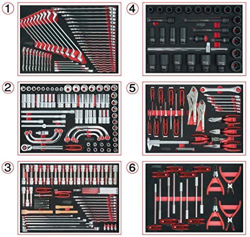 KS Tools Werkstattwagen-Einlagenpaket, 291-tlg