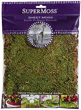 SuperMoss  21580  Sheet Moss Dried Natural 2oz