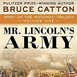 Mr. Lincoln's Army audiobook cover art