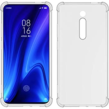 TIYA スマホケース Mi 9T K20 or Pro ケース クリア Xiaomi K20Pro 柔らかい TPU 薄型 いエアバッグ 透明