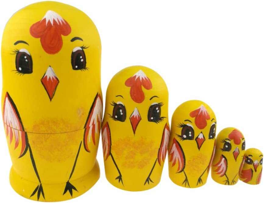 Winterworm Set Al sold out. of 5 Cute Animal Theme Handmade Hand-Painted Wood Choice