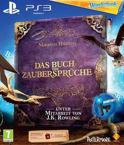 Move Wonderbook PS-3 AT Buch der Zaubersprüche