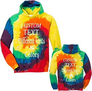 tie dye a hoodie