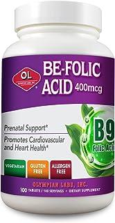 Olympian Labs Be-folic Acid 400 Mcg, 100 Count