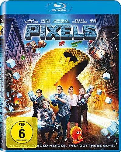 Pixels [Blu-ray]