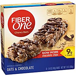 Fiber One Chewy Bars, Oats & Chocolate, 1.4 oz.