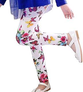 f10fcb6800ccc XILALU Children Trousers Printing Leggings Flower Kids Classic Girls Pencil  Pants by