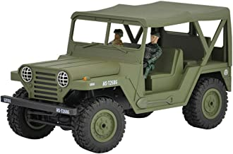 InKach RC Military Truck, 1/12 Scale 4WD 2.4Ghz Radio Controlled Off-Road Military Trucks for Kids Remote Control Army Cars Electric RTR Vehicles Toys