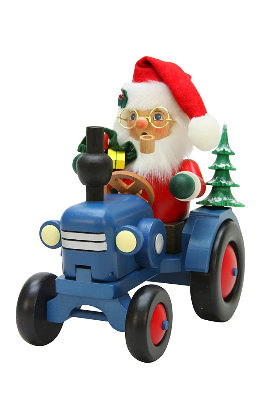 第九君主区Alexander Taron Christian Ulbricht装飾サンタon Tractor Incense Burner