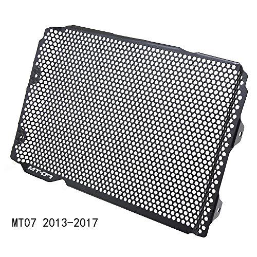 MT-07 Motorrad Aluminiumlegierung Kühlerabdeckung Kühler Schutzfolie Für Yamaha MT07 MT 07 FZ07 2013-2017 MT-07 Moto Cage 2015-2017