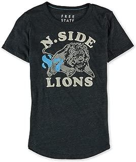 AEROPOSTALE Womens N. Side Lions Graphic T-Shirt