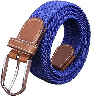 LIEMI ✅ Cinturon El/ástico Trenzado para Hombre y Mujer