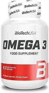 Biotech USA 19024010000. Omega 3 Vitaminas y Minerales. 63 gr