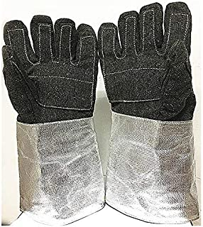 DANER Industrial high Temperature of Heat-Insulating Gloves 1100 hot wear Resistant Glove of Gloves Thickened 1000