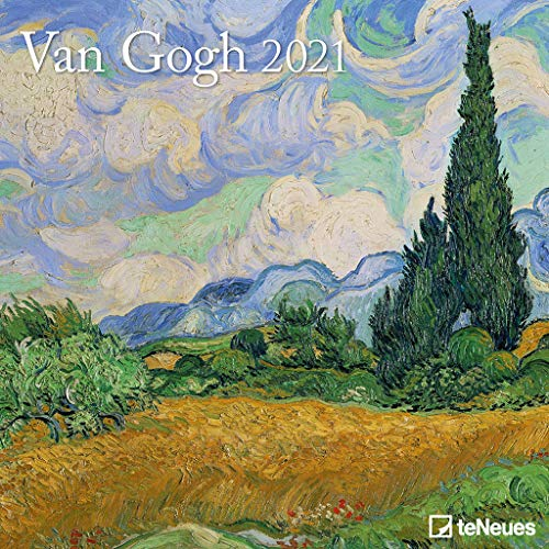 van Gogh 2021 - Wand-Kalender - Broschüren-Kalender - 30x30 - 30x60 geöffnet - Kunst-Kalender