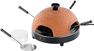 Monsterzeug - Raclette para Pizza, Mini Horno, Horno de Piedra para Cocina, sartenes, Parrilla de Mesa