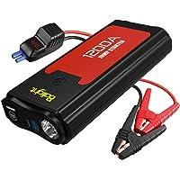 Balight 1200A Peak Car Jump Starter Portable Battery Booster