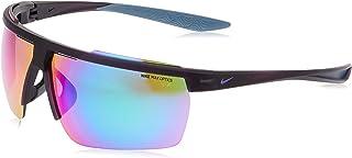 نظارة شمسية من نايك للرجال، لون ازرق، 75 ملم، نايك حاجب الريح ام سي دبليو