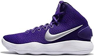 d1ee33122735 Nike Men s Hyperdunk 2017 TB Basketball Shoe Court Purple Metallic  Silver White Size 12.5