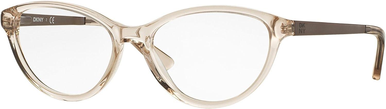 DKNY DY4671 Eyeglass Frames 369752  Beige Crystal satin Tobacco