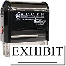 MaxStamp - Self-Inking Exhibit Stamp (Red Ink)