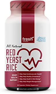 Red Yeast Rice - Strongest DNA Verified - Cholesterol, Cardiovascular Health, Weight Management, Well Being - Cholesterol ...