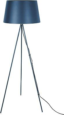 Leitmotiv LM1825BL Lampadaire Classy Métal Bleu