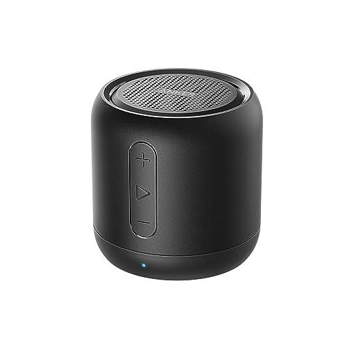 Anker SoundCore Mini Enceinte Bluetooth Portable - Haut Parleur avec Autonomie de 15 Heures, Portée Bluetooth de 20 Mètres