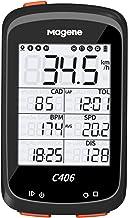 حاسوب دراجة Magene C406 مع حامل ، جهاز كمبيوتر GPS لركوب الدراجات مقاوم للماء ، شاشة لاسلكية ذكية للطرق ، شاشة LCD 2.5 بوصة