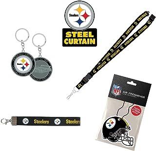 NFL Pittsburgh Steelers Unisex NFL Gift Bundle, Back, One Size