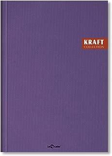 Lé Color 2017115/2 Kraft Defter Sert Kapaklı, Spiralli, 1.Hamur Kağıt, 200 Sayfa, Mor