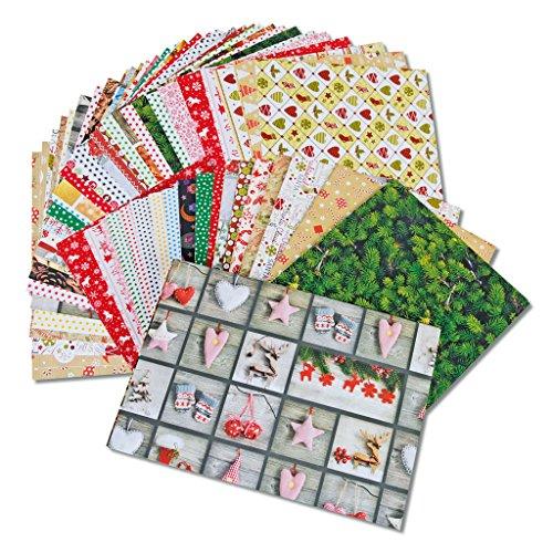 Wiemann Lehrmittel Motivkarton Weihnachten 300 g/m2, 115 Blatt, DIN A4, 2kg