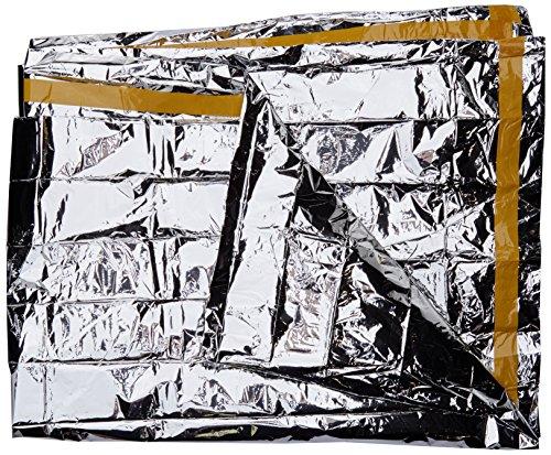 VAUDE Biwak LW - Saco de vivac Color Silver, Talla One Size
