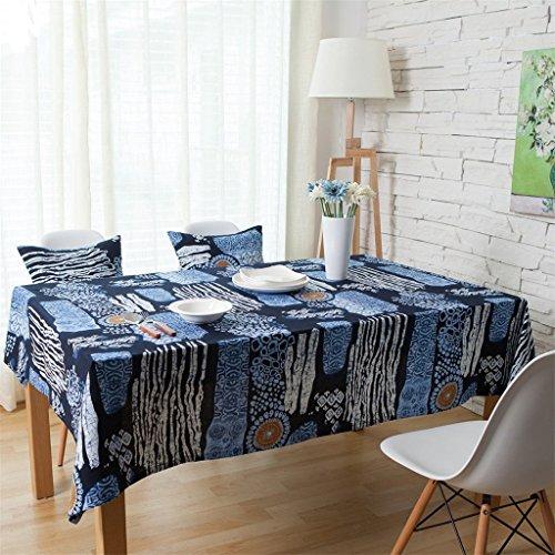 ethnique Coton Nappe en lin Table de salon salle à manger Restaurant Décor de cuisine, Tissu, #2, 140*160cm