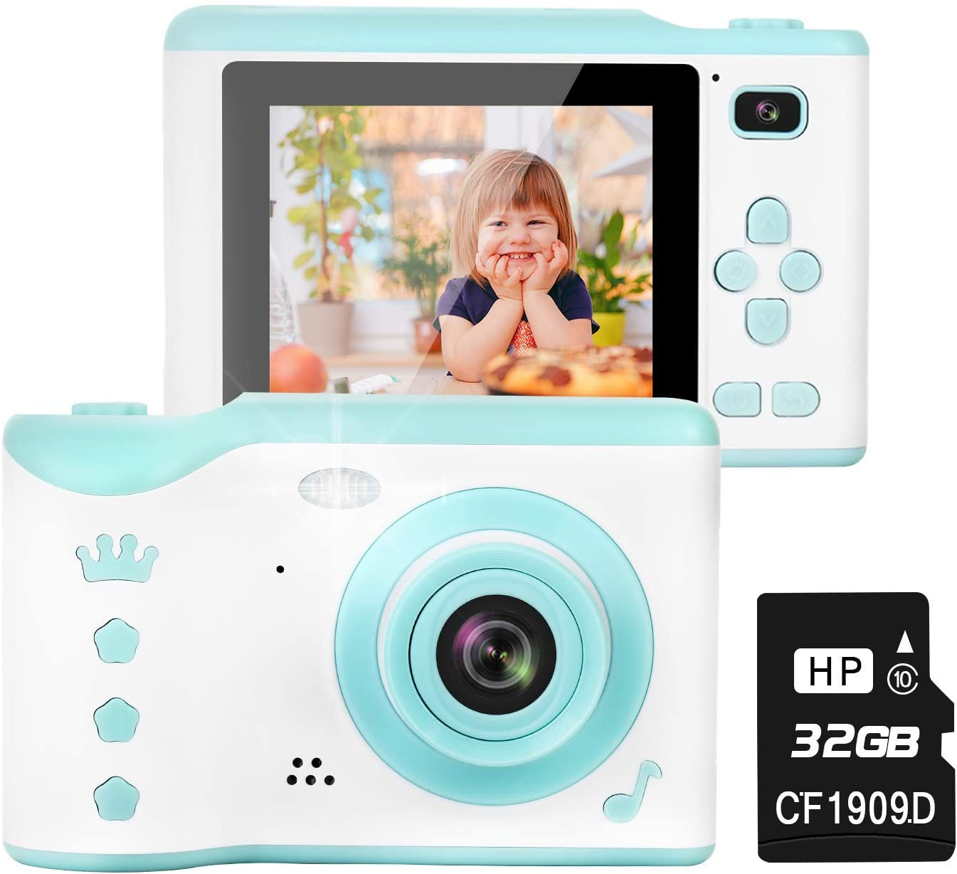 TOYSBBS Kids Camera 高額売筋 8.0MP Digital Recharg Creative 輸入 Dual