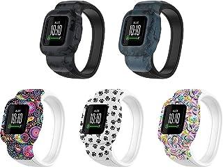 Gransho Correa de Reloj Reemplazo Compatible con Garmin vivofit jr.3 / Fit JR3, la Correa de Reloj Watch Band Accessorios