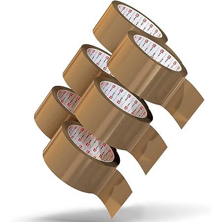 NEU Paketklebeband sehr leise 1 Rollen PAKET KLEBEBAND braun* PACKBAND