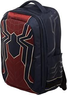 Spiderman Bag, New Avengers Costume Style Red with Blue, Back to School Backpack