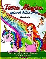 Terra Magica Unicorni, Fate e Sirene: Regno fantastico, Castelli, Belle pagine, Design carino, Divertimento