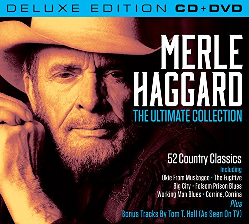 Merle Haggard The Ultimate Collection (Deluxe Edition CD with Bonus Material Featuring Tom T Hall (All DVD/NTSC Region 0) [Import Anglais]