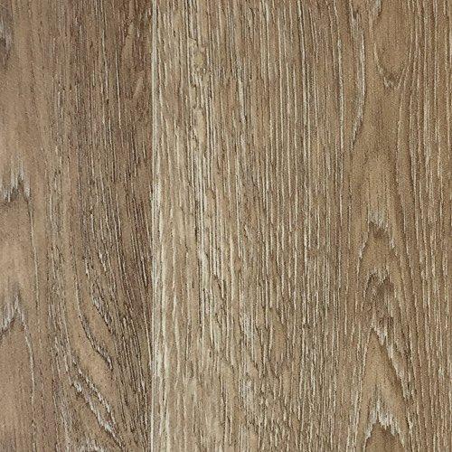 PVC-Boden Holzdielenoptik Braun Struktur m. Vliesrücken| Muster | Vinylboden versch. Längen | Fußbodenheizung geeignet | PVC Platten strapazierfähig & pflegeleicht | Rutschhemmender Fußboden-Belag