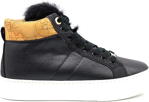 Alviero Martini 1a Clase P3A4 1000280208X550 negro Hauszapatos botas Safari zapatos De mujer