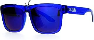 Mens Neon Pop Horn Rim Sport Horned Sunglasses
