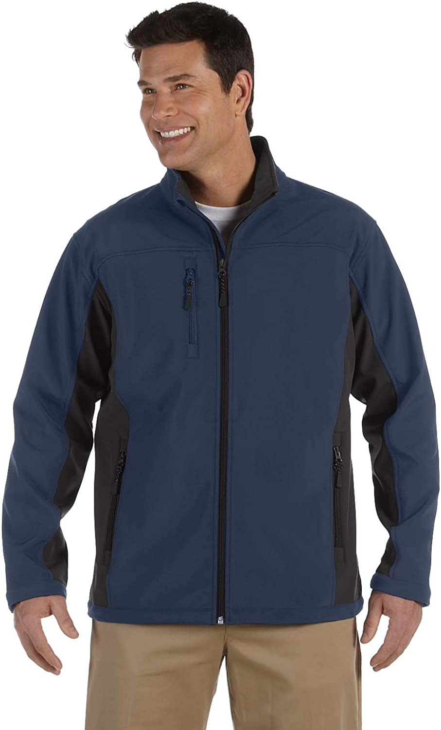 Max 50% OFF D and Jones Choice Men's Jacket Colorblock Shell Soft