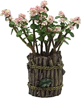 IFUNEYS Flower Pot and Succulent Pots - Tree Branch Creative Design Planters, Outdoor Garden or Indoor Plant Urn with Drainage Hole